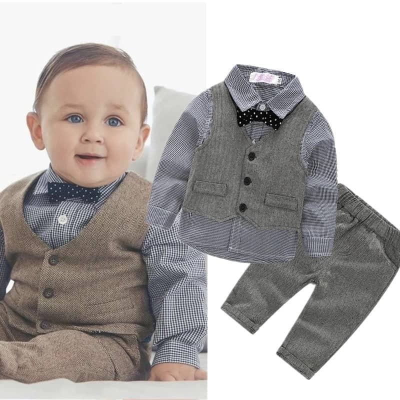 Baby Boy Suit Wedding Attire