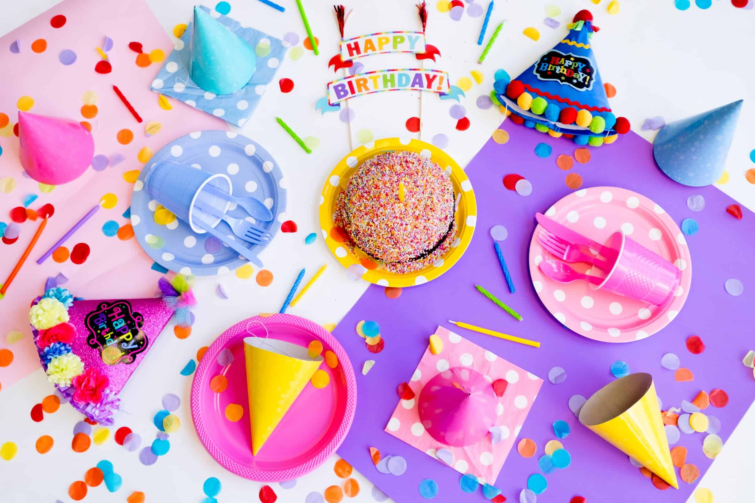 3 Unisex Party Supplies That You Will Need For Your Kid's Birthday