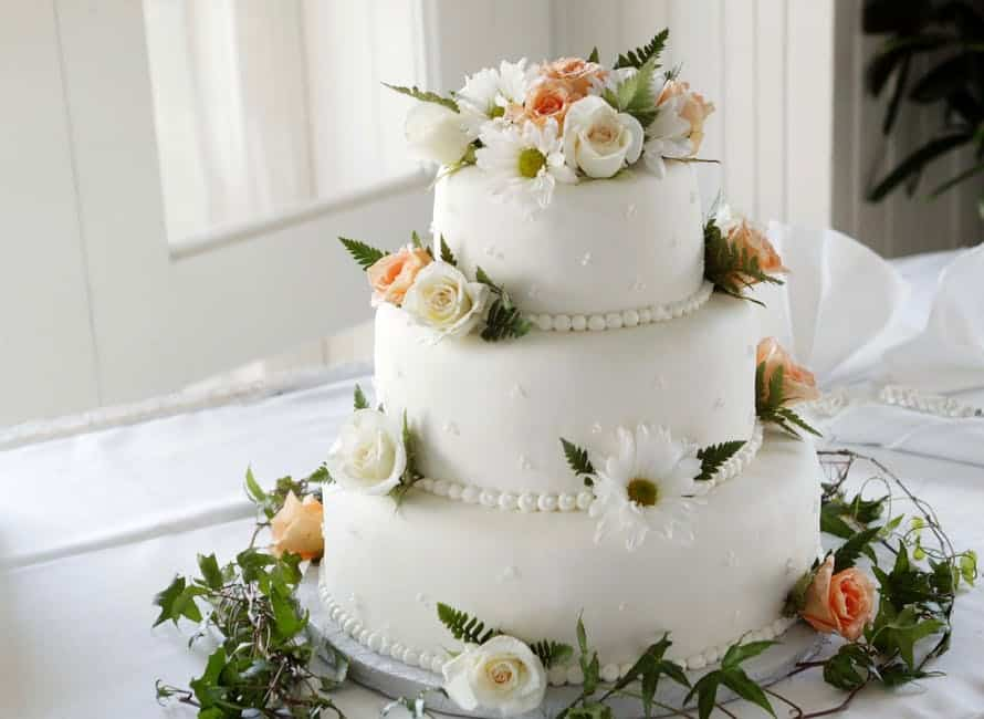 Flowers Wedding Cakes